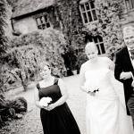 front of house at woodhall manor