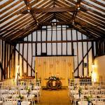 ceremony room at haughley park barn
