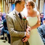 ceremony at haughley park barn